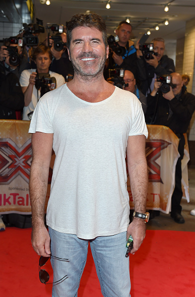 "LONDON, ENGLAND - AUGUST 26: Simon Cowell attends the press launch of ""The X Factor"" at the Picturehouse Central on August 26, 2015 in London, England. (Photo by Karwai Tang/WireImage)"
