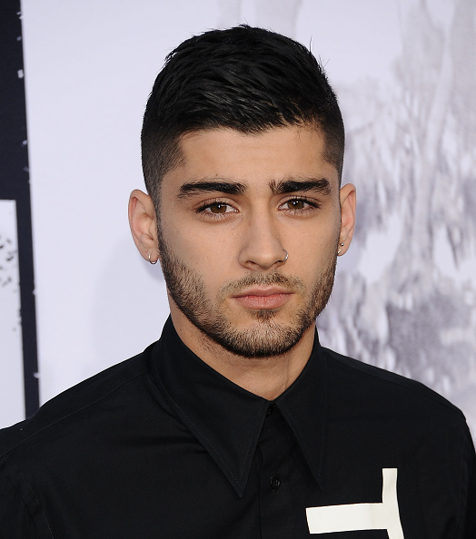 "LOS ANGELES, CA - AUGUST 10: Zayn Malik attends the premiere of ""Straight Outta Compton"" at Microsoft Theater on August 10, 2015 in Los Angeles, California. (Photo by Jason LaVeris/FilmMagic)"