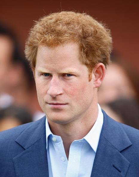 LONDON, UNITED KINGDOM - JUNE 10: (EMBARGOED FOR PUBLICATION IN UK NEWSPAPERS UNTIL 48 HOURS AFTER CREATE DATE AND TIME) Prince Harry attends the launch of the Rugby World Cup Trophy Tour, 100 days before the Rugby World Cup at Twickenham Stadium on June 10, 2015 in London, England. (Photo by Max Mumby/Indigo/Getty Images)