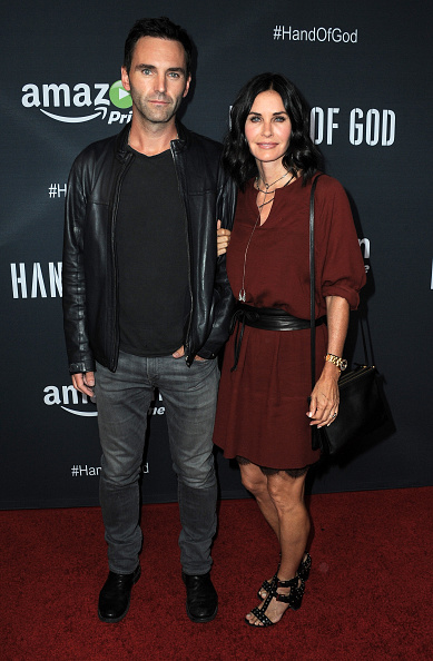 """arrives for the Premiere Of Amazon's Series """"Hand Of God"""" held at Ace Theater Downtown LA on August 19, 2015 in Los Angeles, California."""