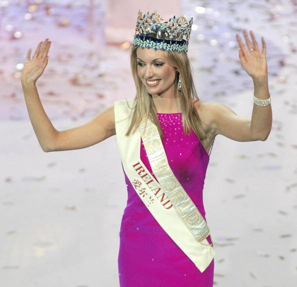 Newly crowned Miss World 2003 Rosanna Da