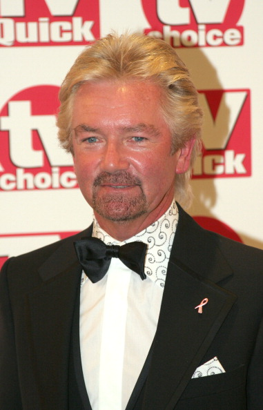 Noel Edmonds during TV Quick Awards & TV Choice Awards - Inside Arrivals at The Dorchester in London, Great Britain. (Photo by Alan Weller/FilmMagic)