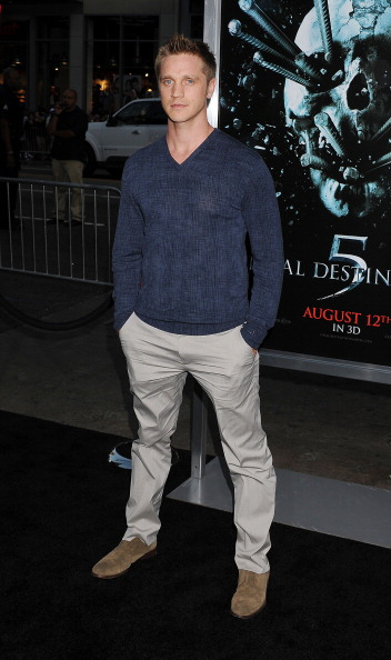 """HOLLYWOOD, CA - AUGUST 10: Devon Sawa arrives at the """"Final Destination 5"""" Los Angeles Premiere on August 10, 2011 at Grauman'S Chinese Theatre in Hollywood, California. (Photo by Jeffrey Mayer/WireImage)"""