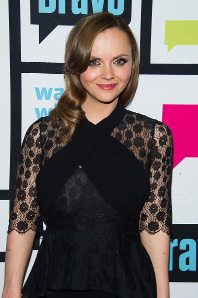 WATCH WHAT HAPPENS LIVE -- Pictured: Christina Ricci -- (Photo by: Charles Sykes/Bravo/NBCU Photo Bank via Getty Images)