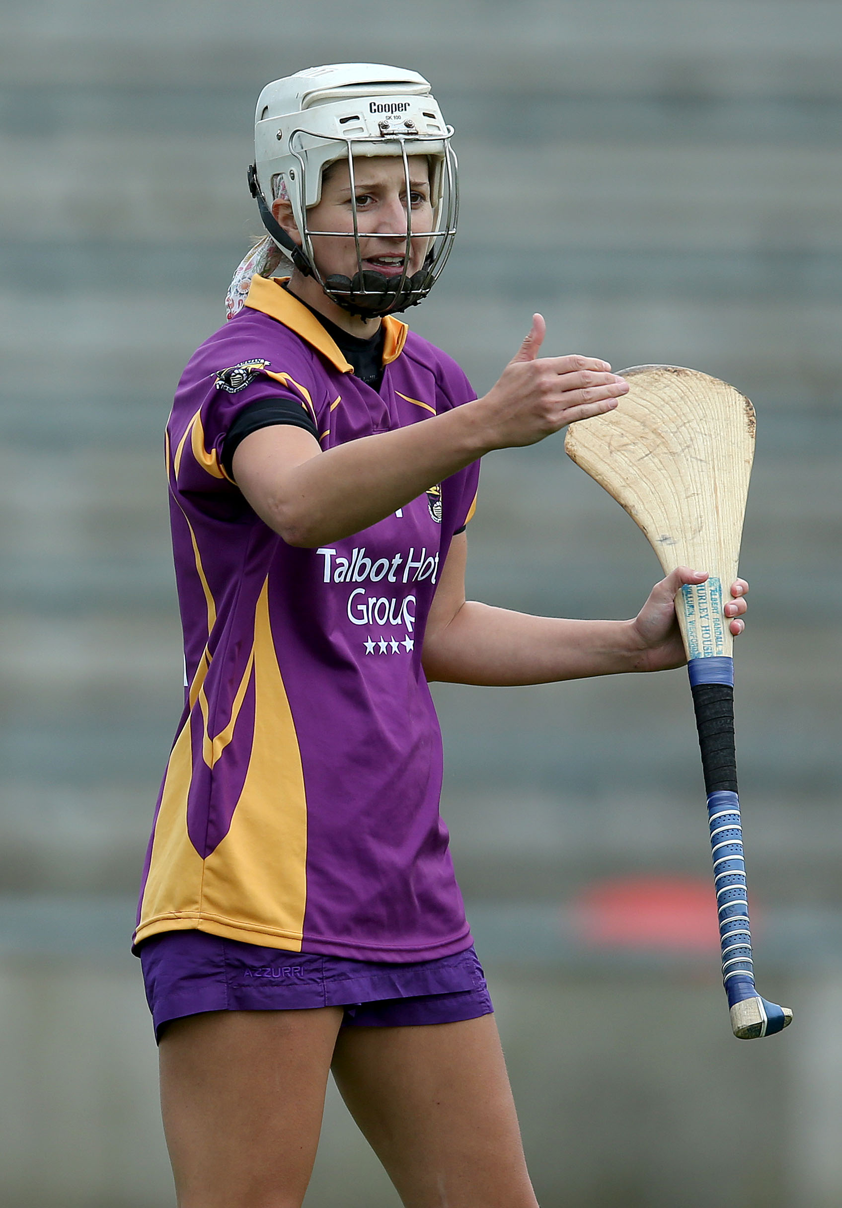 REPRO FREE***PRESS RELEASE NO REPRODUCTION FEE*** Liberty Insurance All Ireland Camogie Championship Group 1, 5/7/2014 Wexford Goalkeeper Mags Darcy Mandatory Credit ©INPHO/Dan Sheridan