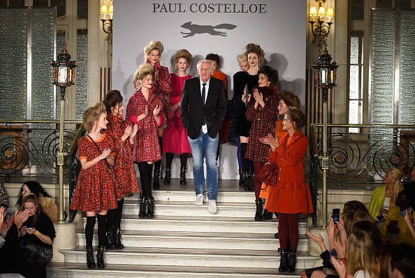 at the Paul Costelloe presentation during London Fashion Week Fall/Winter 2015/16 at The Waldorf Hilton Hotel on February 20, 2015 in London, England.