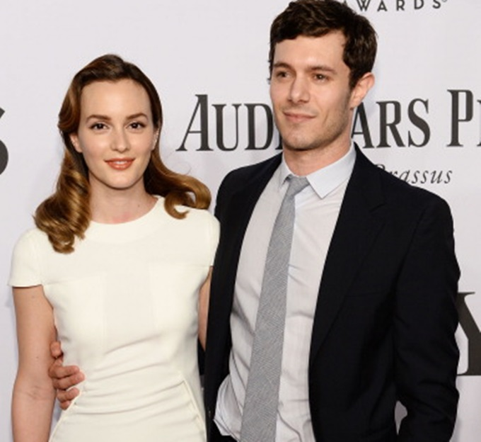 NEW YORK, NY - JUNE 08: Leighton Meester and Adam Brody attend the 68th Annual Tony Awards at Radio City Music Hall on June 8, 2014 in New York City. (Photo by Dimitrios Kambouris/Getty Images for Tony Awards Productions)