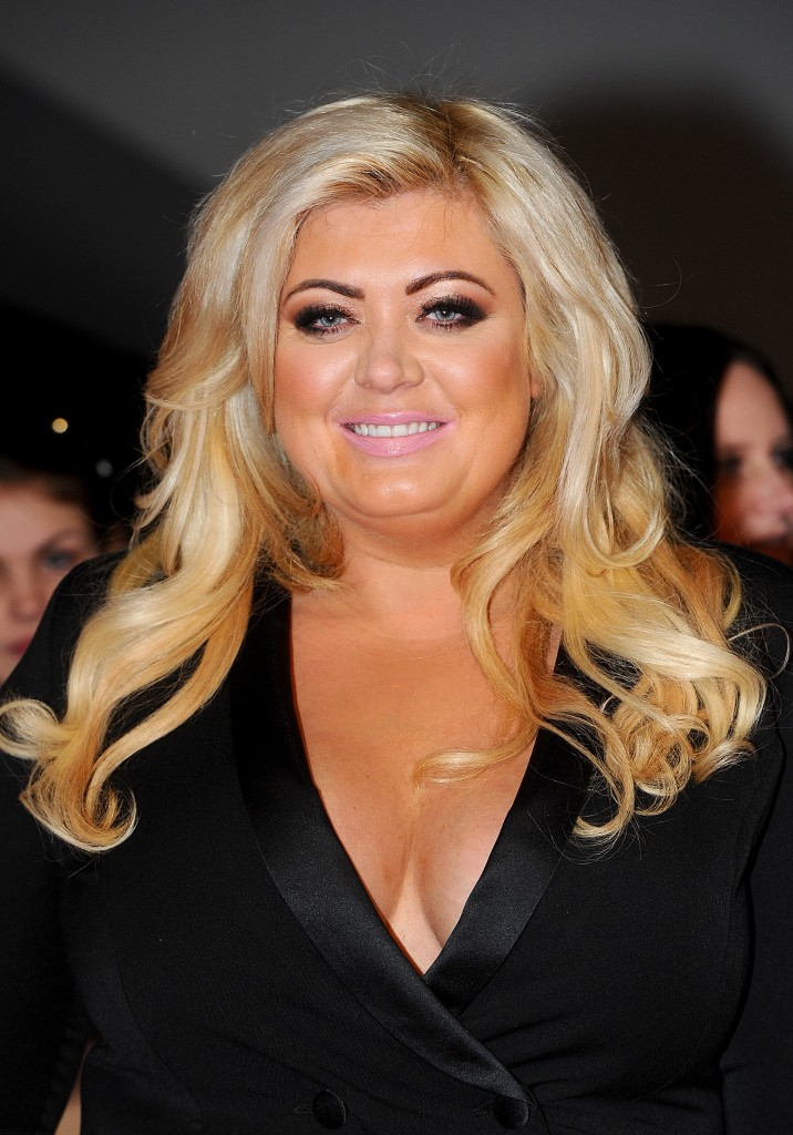 LONDON, ENGLAND - JANUARY 21: Gemma Collins attends the National Television Awards at 02 Arena on January 21, 2015 in London, England. (Photo by Anthony Harvey/Getty Images)