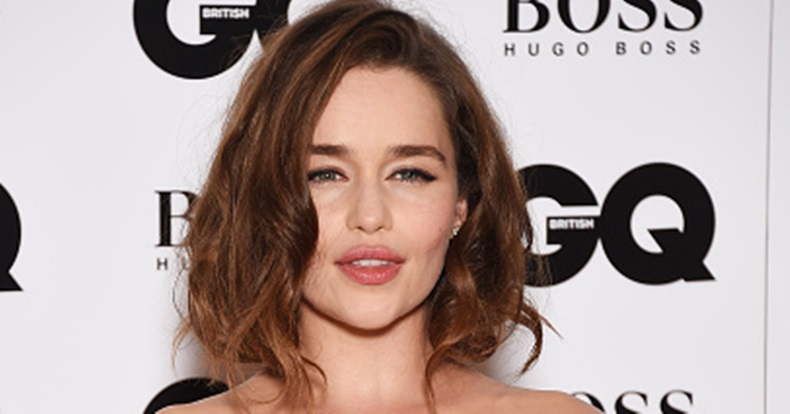 Emilia Clarke Goes 'Khaleesi' Blonde For The First Time