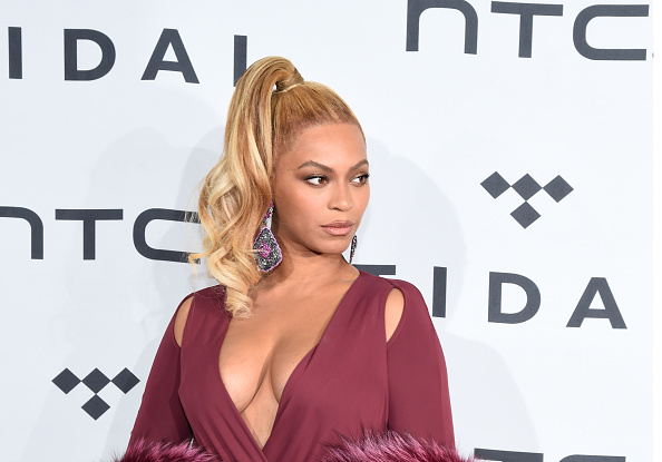 NEW YORK, NY - OCTOBER 20: Beyonce attends TIDAL X: 1020 at Barclays Center on October 20, 2015 in the Brooklyn borough of New York City. (Photo by Ilya S. Savenok/Getty Images)