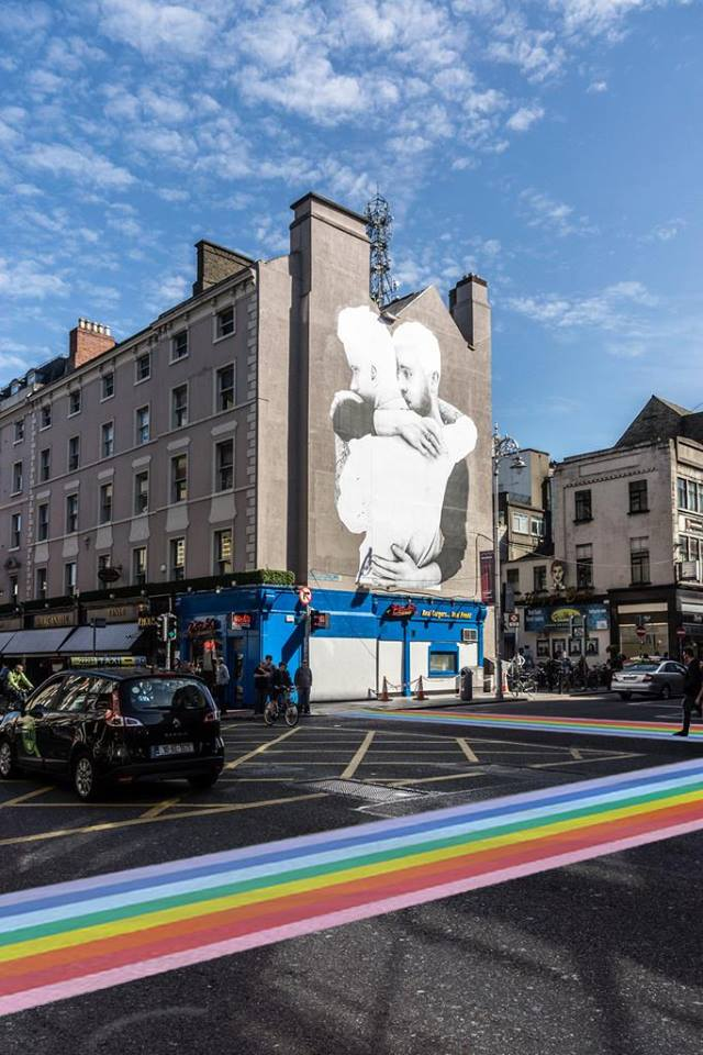Support the proposal to install rainbow crossings in for Dublin gay mural