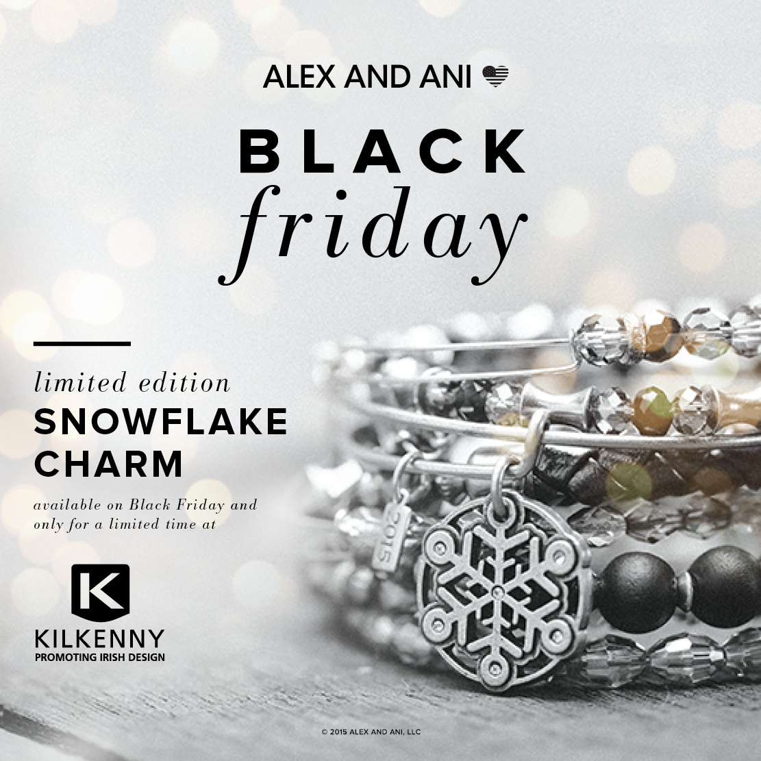 Kilkenny Alex and Ani Black Friday