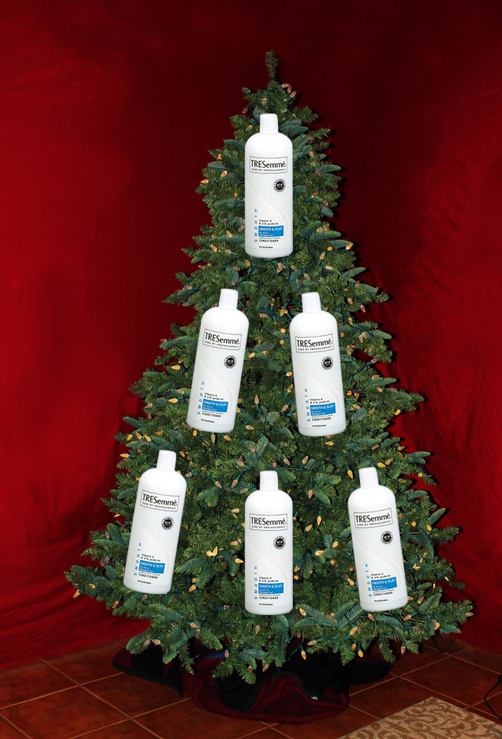 conditioner tree - Essential Christmas Decorations
