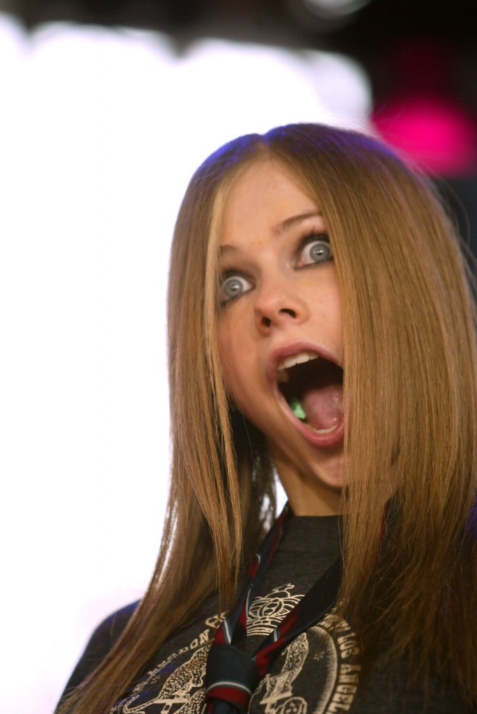 Avril lavigne cumshot fakes