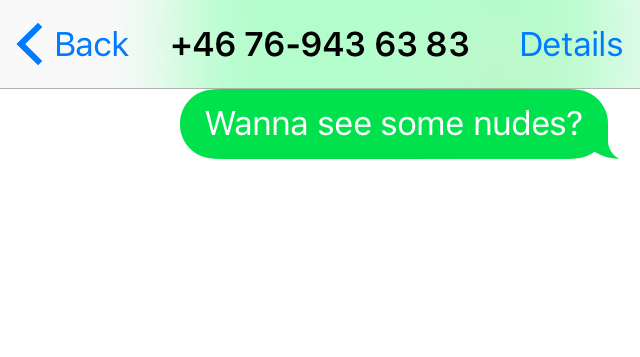 Girls numbers that send nudes