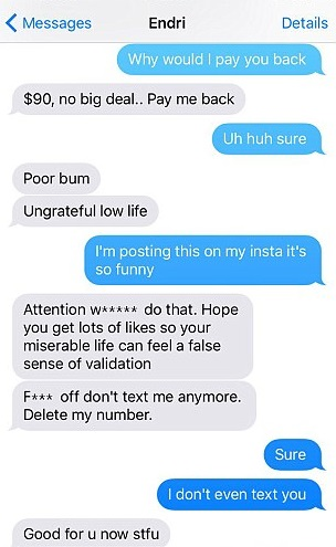 What to text after date