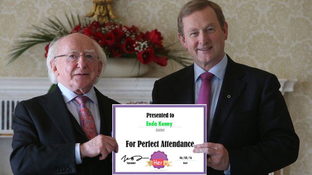 show and tell with michael and enda | her.ie