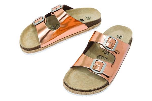 274810 rose gold slider sandals on sale 13.06.16