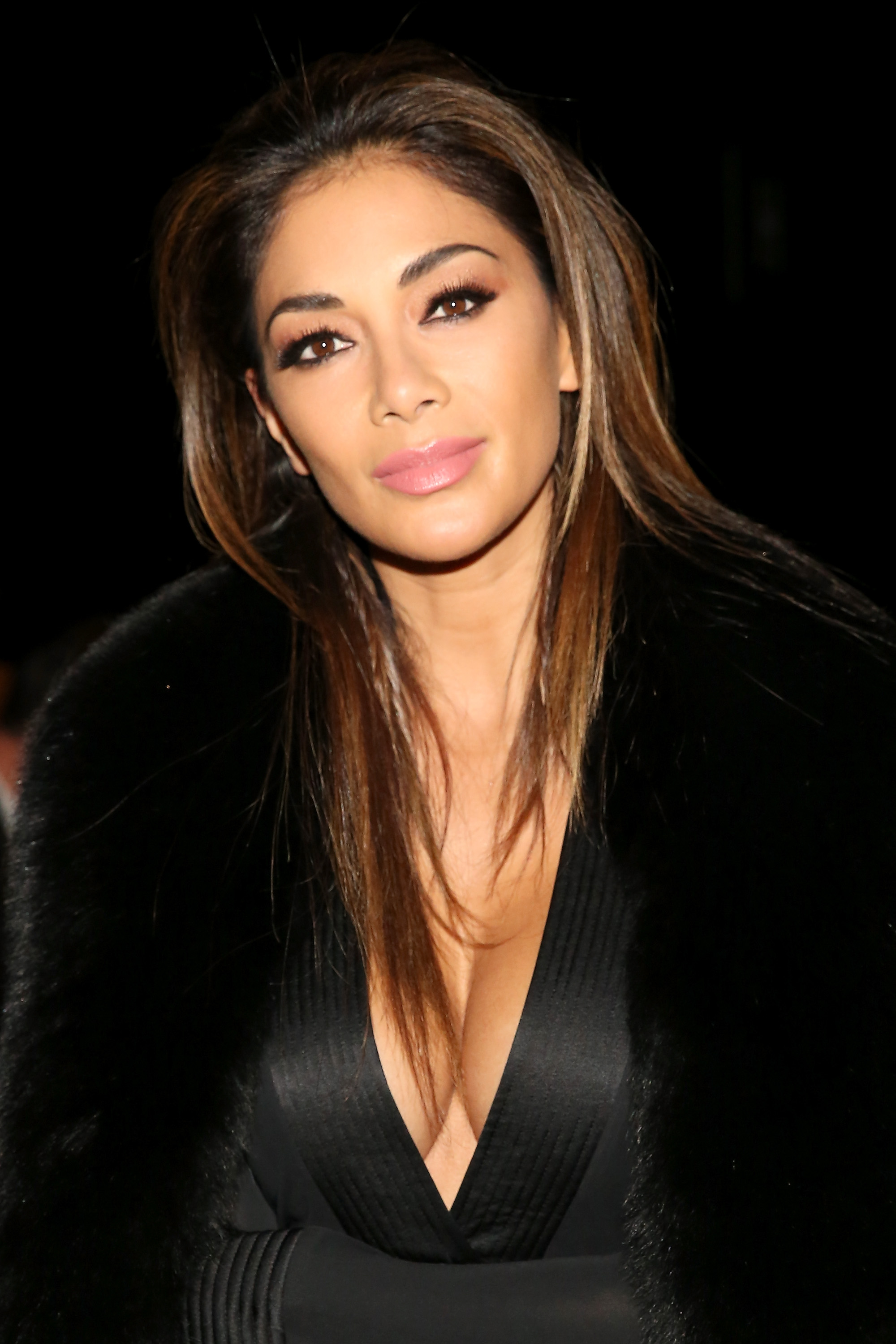 NEW YORK, NY - FEBRUARY 15: Nicole Scherzinger attends the Thomas Wylde Fall 2016 fashion show during New York Fashion Week: The Shows at The Dock, Skylight at Moynihan Station on February 15, 2016 in New York City. (Photo by Monica Schipper/Getty Images for NYFW: The Shows)
