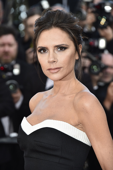 """CANNES, FRANCE - MAY 11: Victoria Beckham attends the """"Cafe Society"""" premiere and the Opening Night Gala during the 69th annual Cannes Film Festival at the Palais des Festivals on May 11, 2016 in Cannes, France. (Photo by Pascal Le Segretain/Getty Images)"""