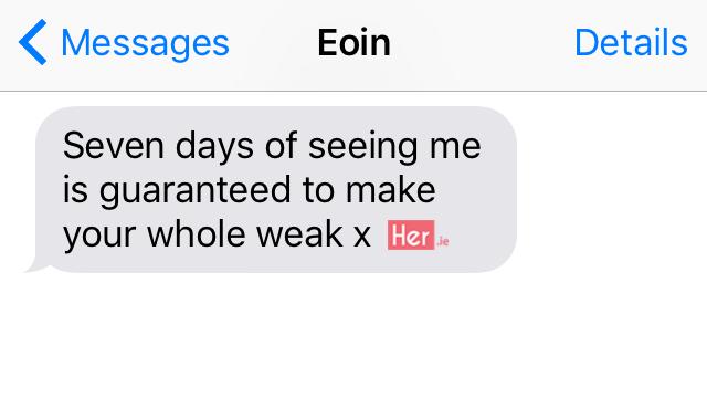 Top 10 Irish sexts (Part 2) | Her ie