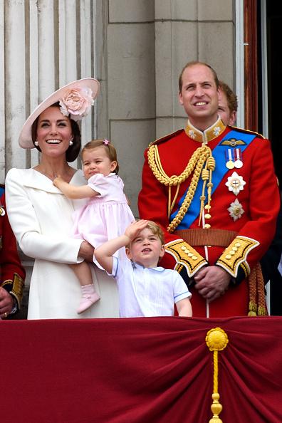 Prince George and Princess Charlotte make royal appearance together ...