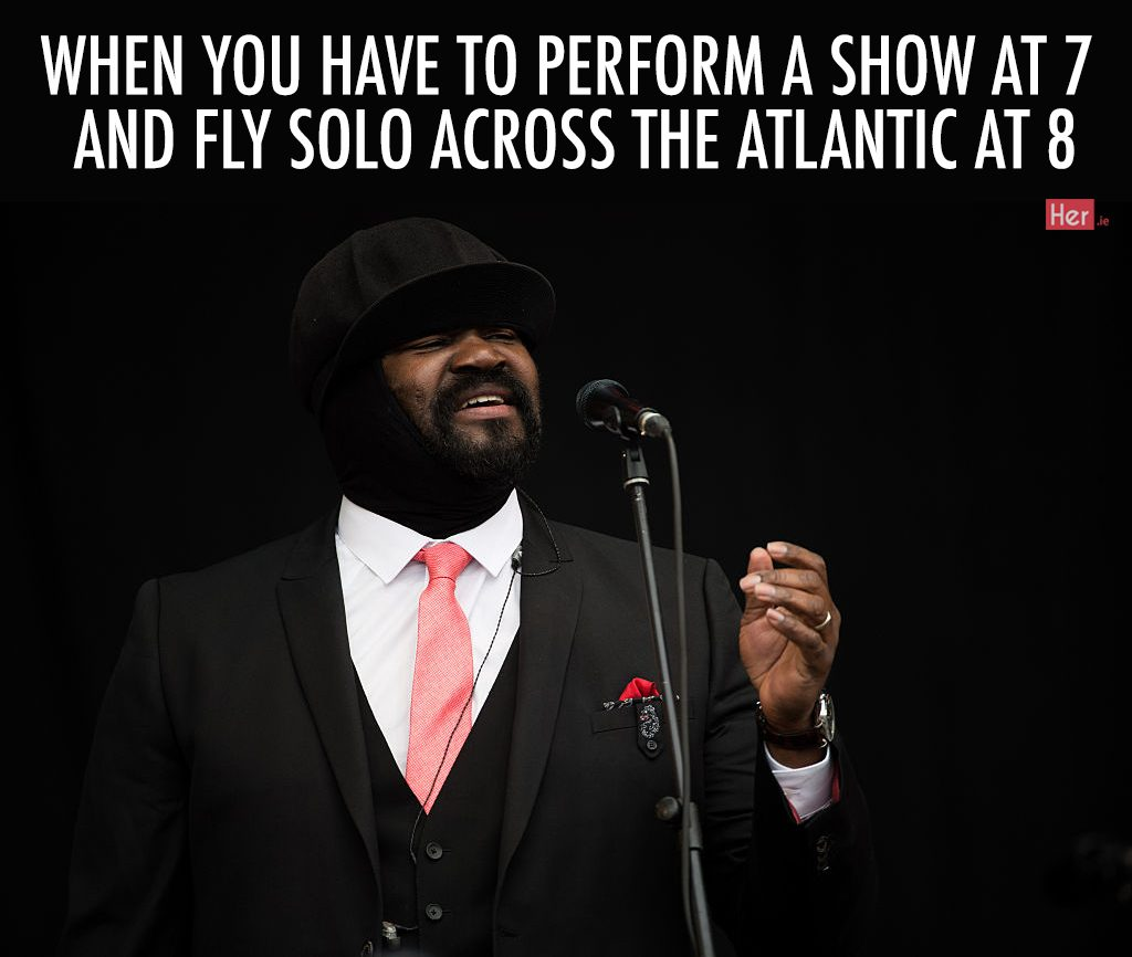 GLASTONBURY, ENGLAND - JUNE 26: Gregory Porter performs on the Pyramid Stage on day 2 of the Glastonbury Festival at Worthy Farm, Pilton on June 26, 2016 in Glastonbury, England. Now its 46th year the festival is one largest music festivals in the world and this year features headline acts Muse, Adele and Coldplay. The Festival, which Michael Eavis started in 1970 when several hundred hippies paid just £1, now attracts more than 175,000 people. (Photo by Ian Gavan/Getty Images)