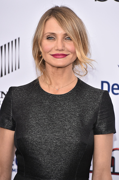 """NEW YORK, NY - DECEMBER 07: Actress Cameron Diaz attends the """"Annie"""" World Premiere at Ziegfeld Theater on December 7, 2014 in New York City. (Photo by Theo Wargo/Getty Images)"""