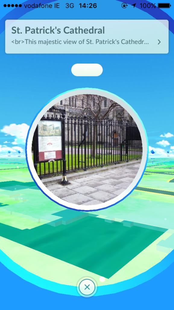 Here's what Pokémon GO looks like around Dublin | Her ie