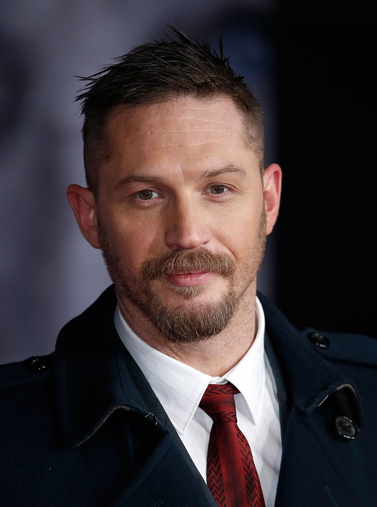 """LONDON, ENGLAND - JANUARY 14: Actor Tom Hardy attends the UK Premiere of """"The Revenant"""" at the Empire Leicester Square on January 14, 2016 in London, England. (Photo by John Phillips/Getty Images)"""