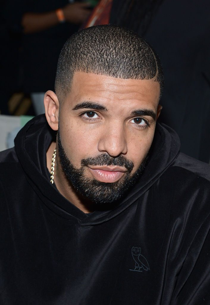 NEW YORK, NY - SEPTEMBER 15: Drake attends the Serena Williams Signature Statementby HSN show during Spring 2016 Style360 on September 15, 2015 in New York City. (Photo by Grant Lamos IV/Getty Images)