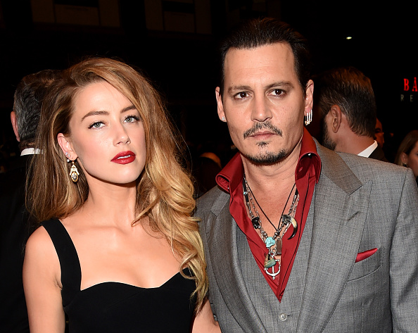 Amber Heard supports JK Rowling on Johnny's Depp's 'Fantastic Beasts 2' casting