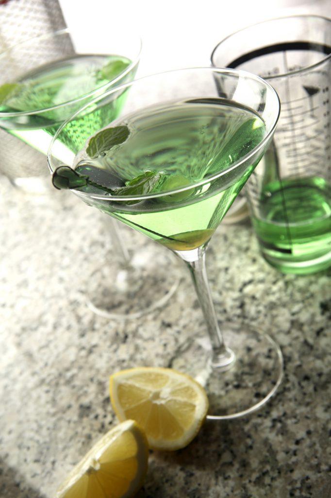 Cocktail Stills: Green Cocktails