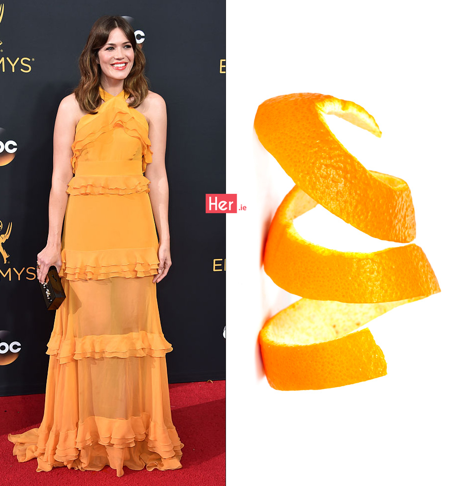 LOS ANGELES, CA - SEPTEMBER 18: Actress Mandy Moore attends the 68th Annual Primetime Emmy Awards at Microsoft Theater on September 18, 2016 in Los Angeles, California. (Photo by Alberto E. Rodriguez/Getty Images)