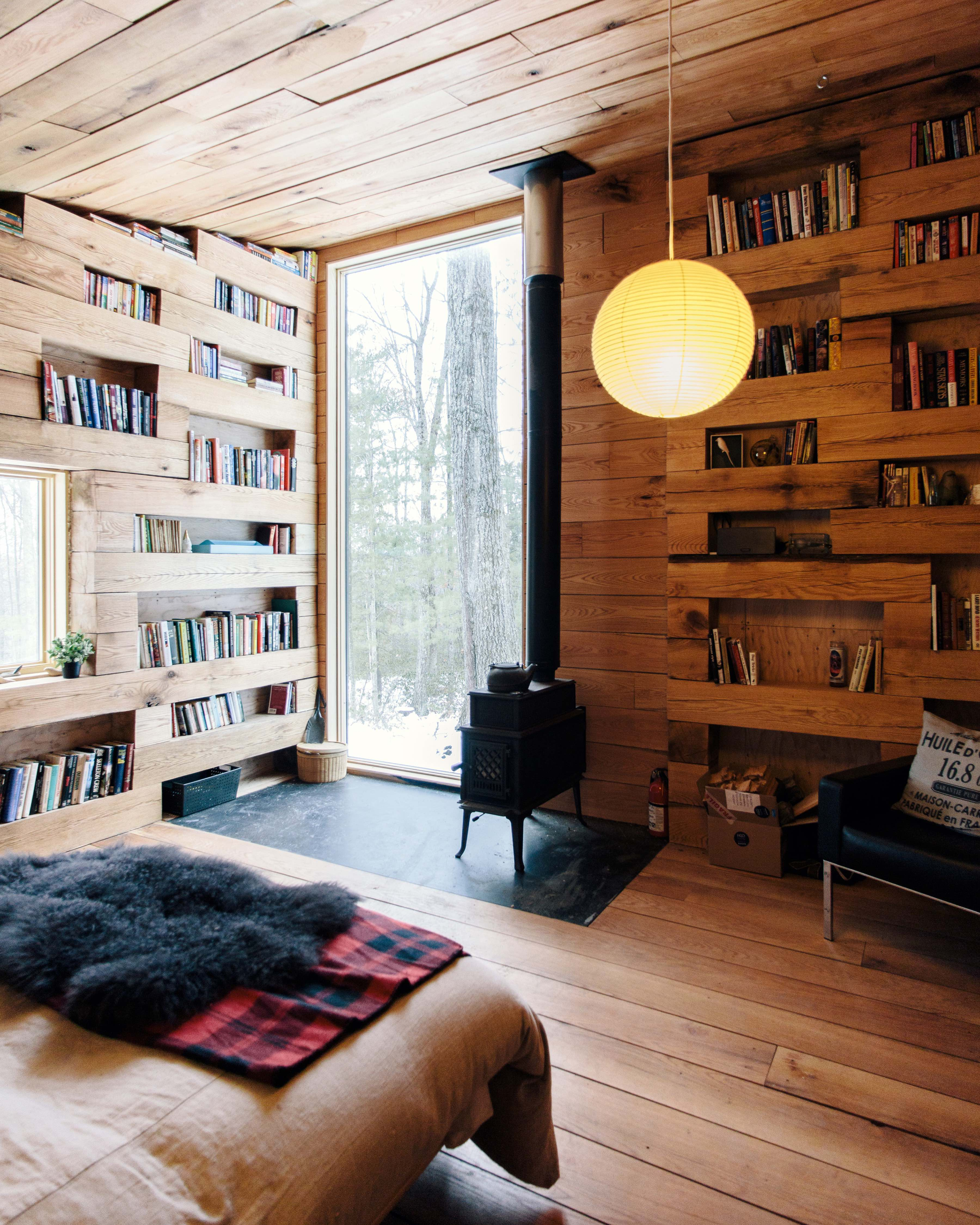 This secluded library in the woods is total property porn
