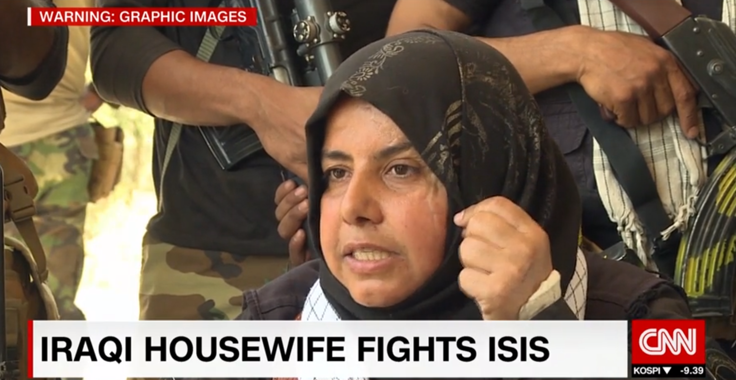 Meet the Iraqi housewife who hunts down and