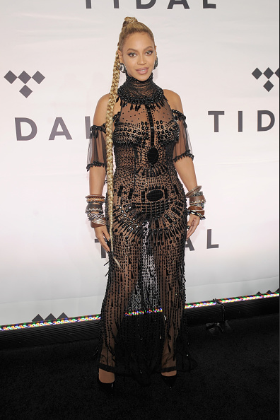NEW YORK, NY - OCTOBER 15: Beyonce attends TIDAL X: 1015 on October 15, 2016 in New York City. (Photo by Brad Barket/Getty Images for TIDAL)