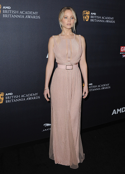 Actress arrives at the 2016 AMD British Academy Britannia Awards Presented by Jaguar Land Rover And American Airlines at The Beverly Hilton Hotel on October 28, 2016 in Beverly Hills, California.