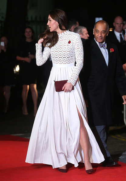"""The Duchess Of Cambridge Attends UK Premiere Of """"A Street Cat Named Bob"""" In Aid Of Action On Addiction"""
