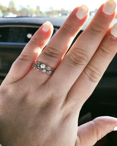 Tennessee bride proudly shows off $130 rings