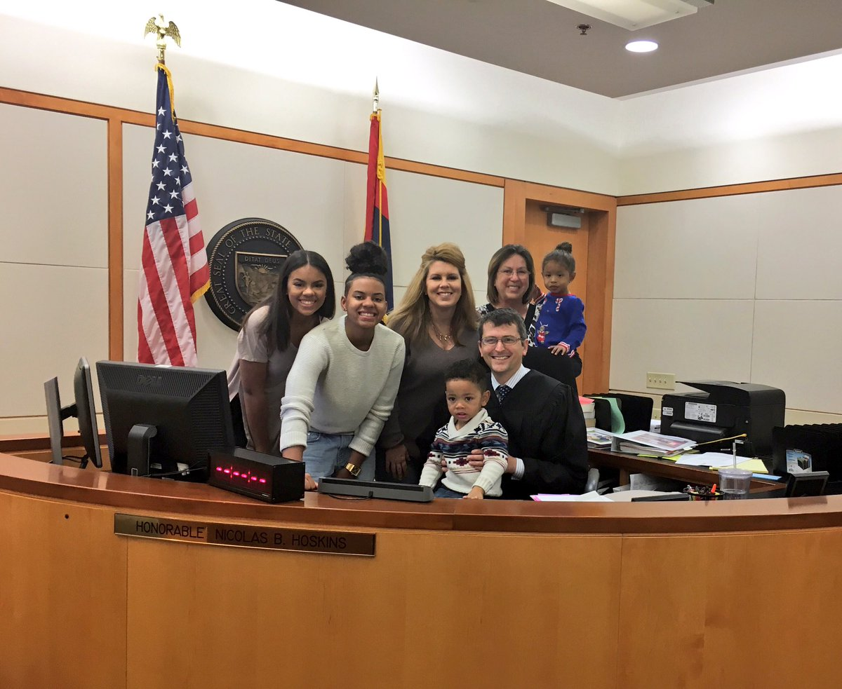 Photo of 3-year-old boy getting adopted goes viral
