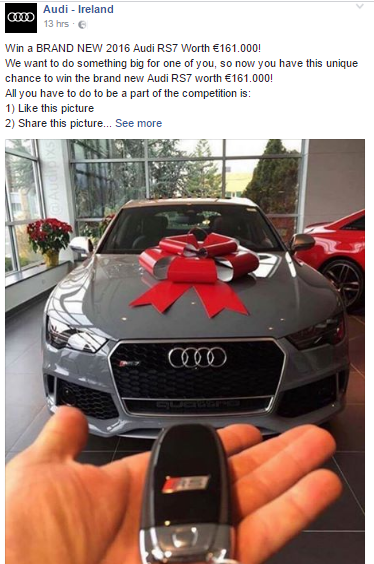 Want to win a car