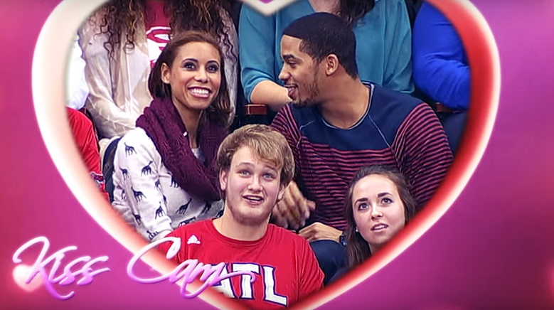 Man's kiss cam proposal goes horribly, horribly wrong