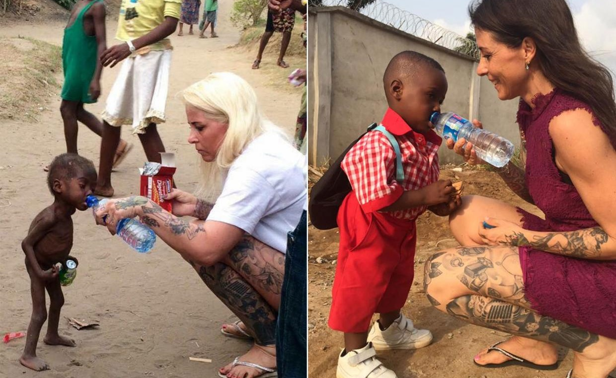 One year on, this abandoned boy is healthy and is starting school