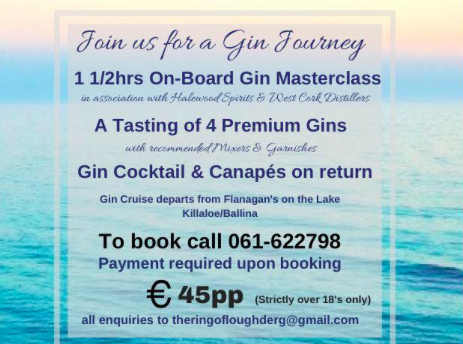 Irelands First Ever Gin Cruise Is Here Herie - Cruise to ireland from us