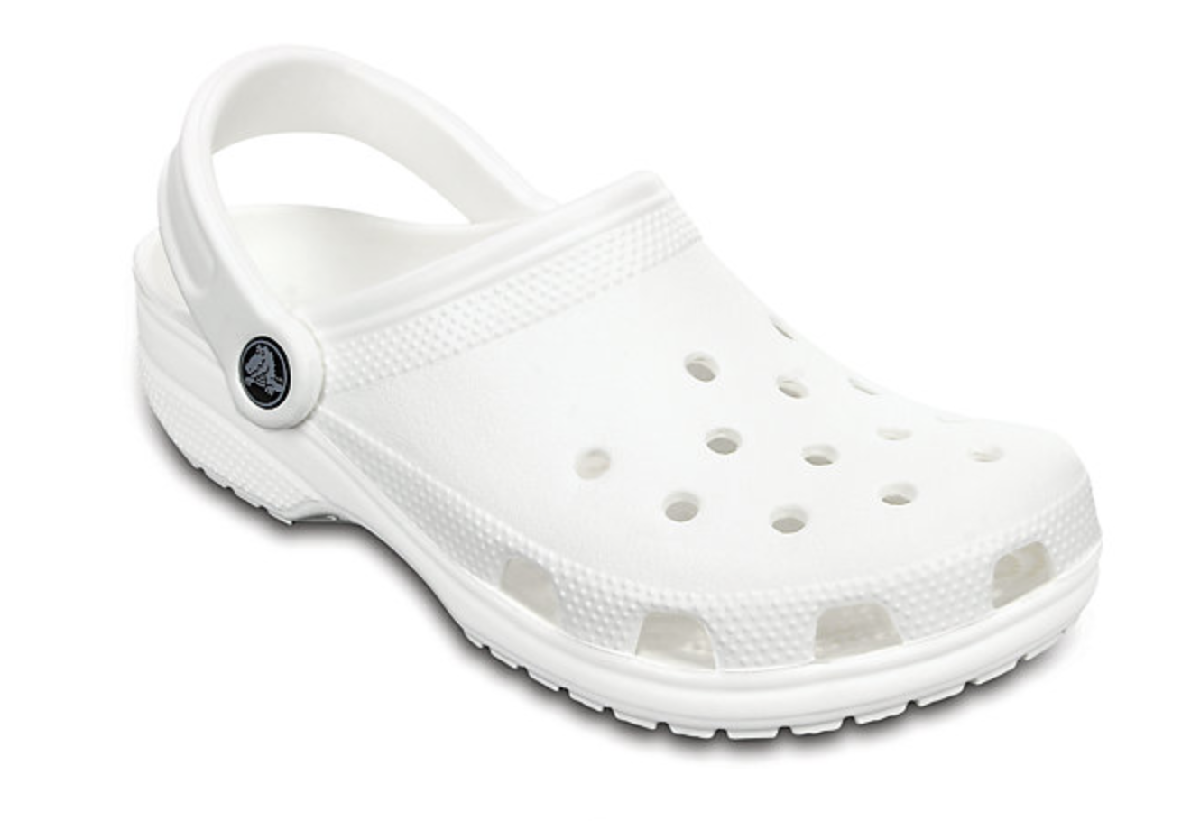 As Well The Standard Pair Of Crocs In Classic White Wedding Shoes Collection Includes Some Flats And Sandals That We Have To Admit Aren T Too Bad