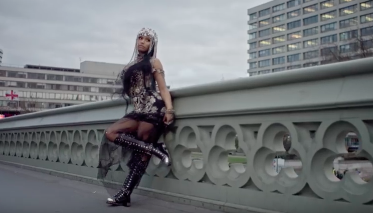 Nicki Minaj SLAMMED for leaving Westminster Bridge footage in No Frauds video
