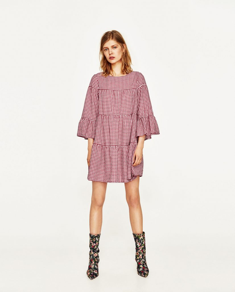 Theres a zara dress just like the penneys one people are going its 3995 so yes its more expensive than the penneys option but you can get this one now and you might as well get the wear from the checked craze ombrellifo Images