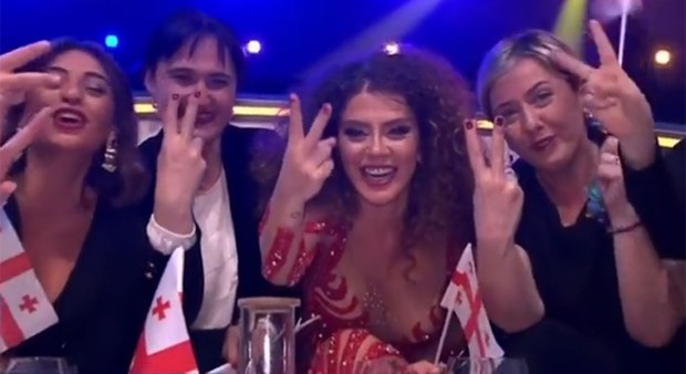 Eurovision has pop, politics and a dancing ape - but no Russian Federation