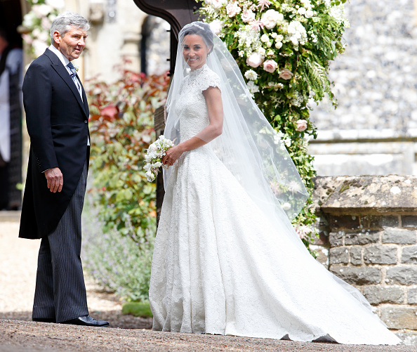 At The Royal Wedding Pippa Middleton S Dress: Looks Like This Princess Took Inspiration From Pippa
